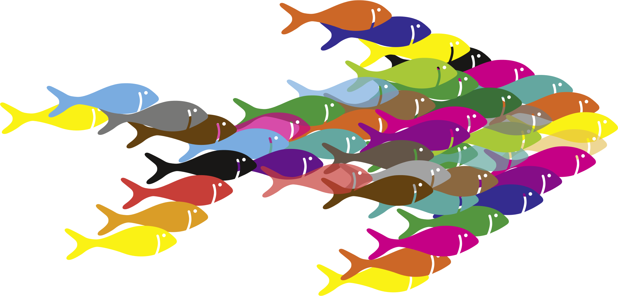 Pocket clipart colorful. Fish fractal icons png