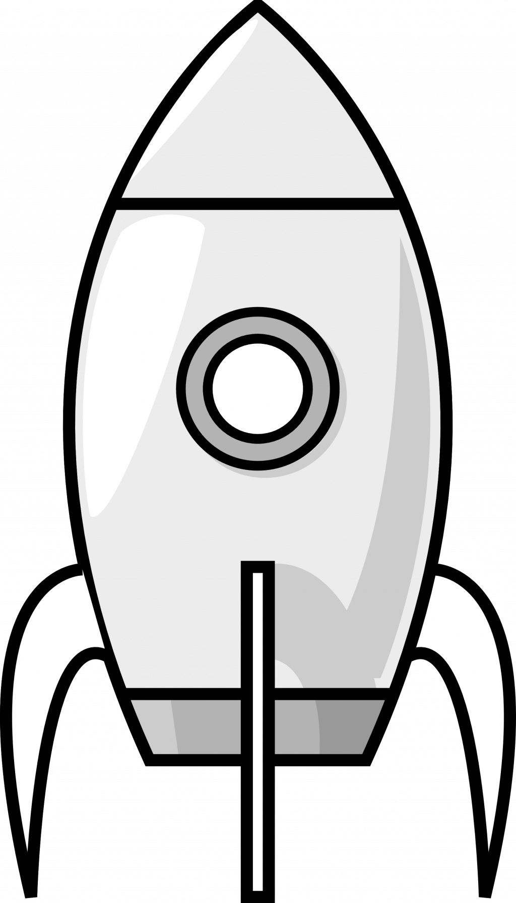 Spaceship clipart control panel. Toy black and white
