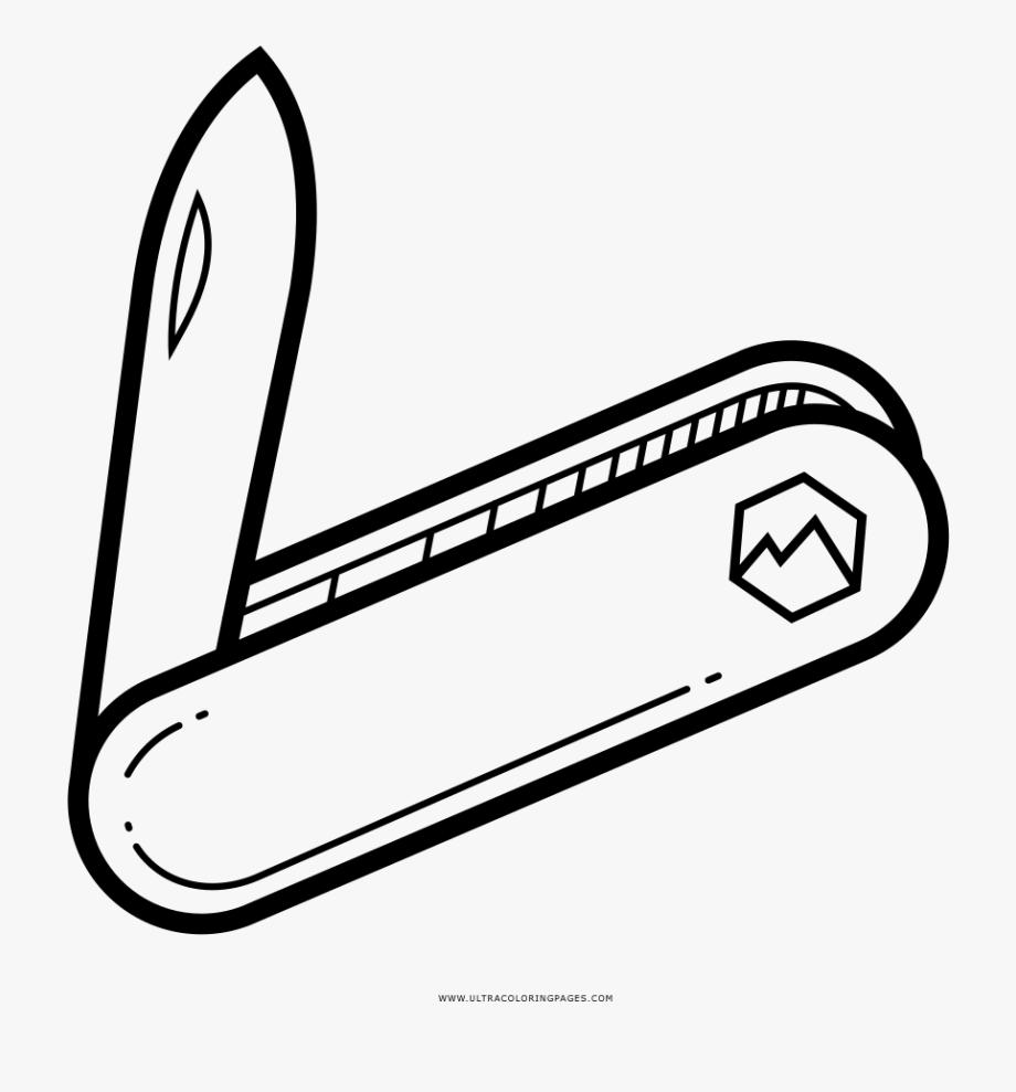 Pocket clipart illustration. Of cute knife clip