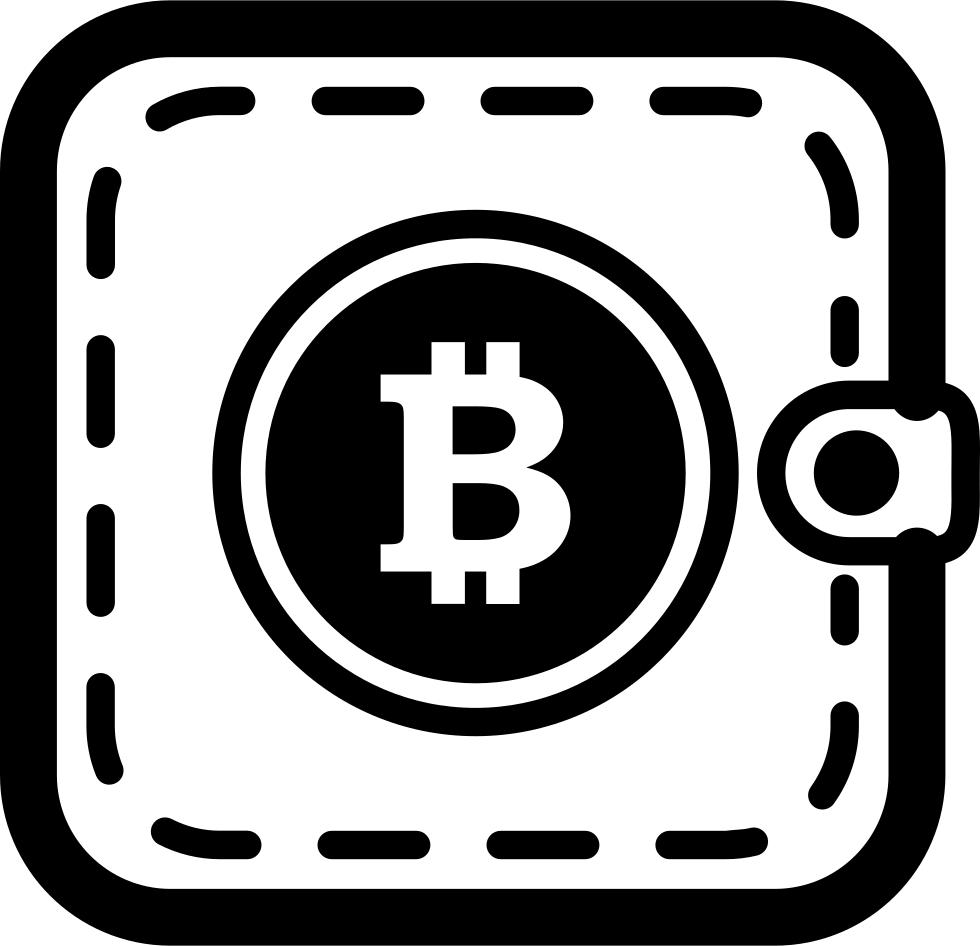 Bitcoin pocket or svg. Wallet clipart lost wallet