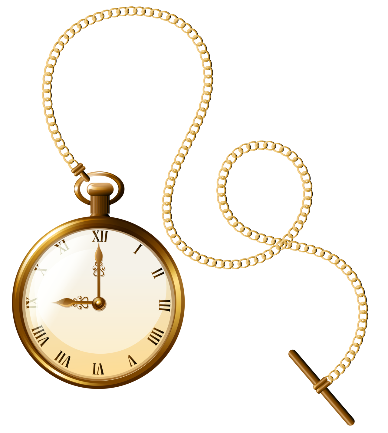 Gold pocket png clip. See clipart watch clock