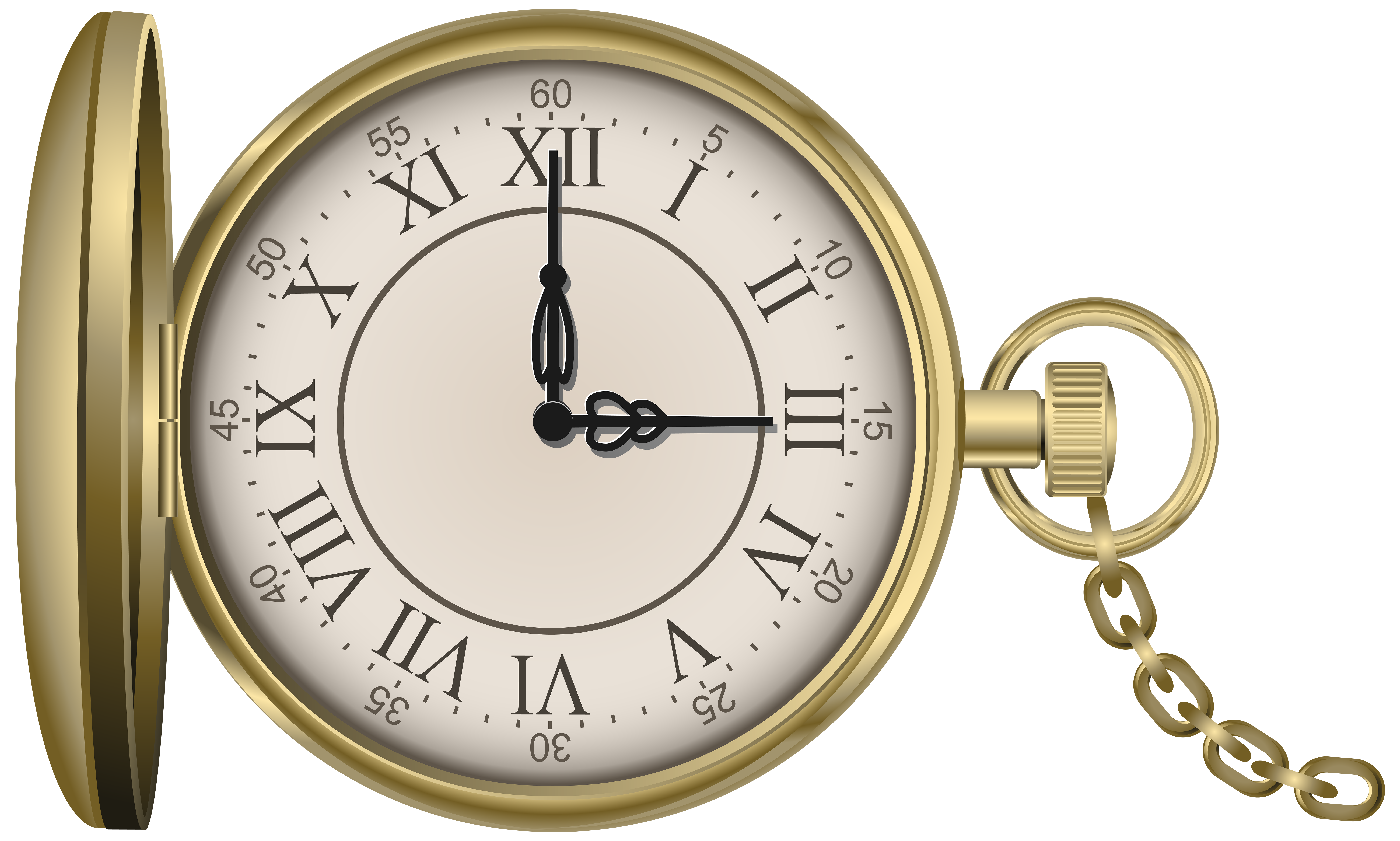 See clipart blue watch. Gold pocket png clip