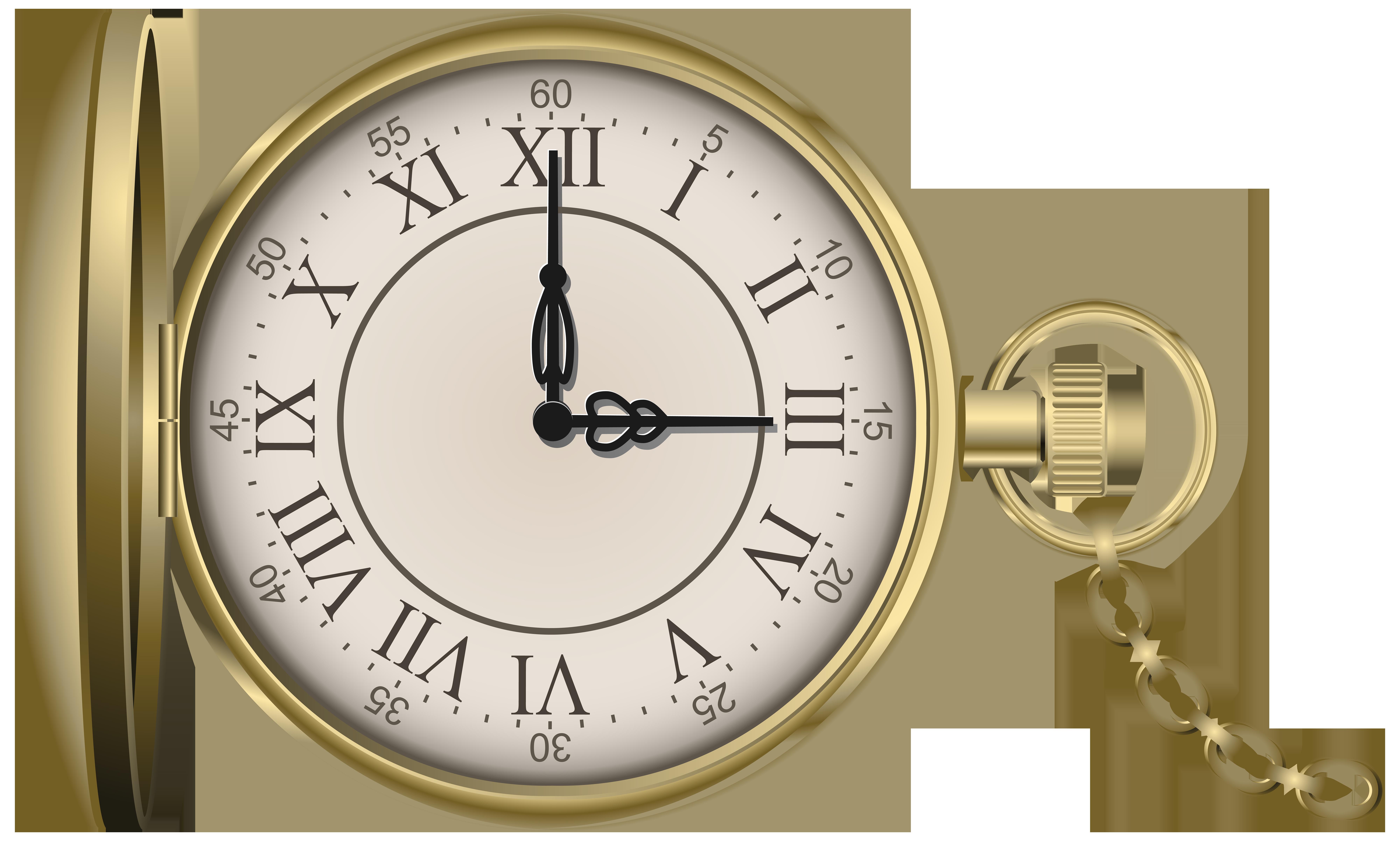 Gold pocket watch png. Stopwatch clipart clip art