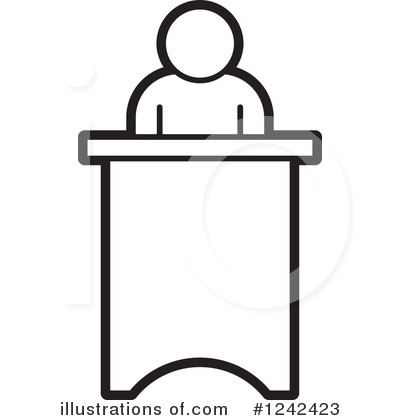 Podium clipart. Illustration by lal perera