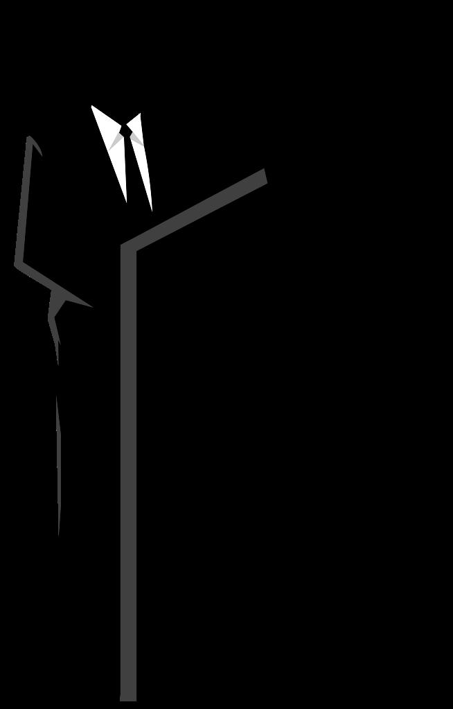 podium clipart black and white