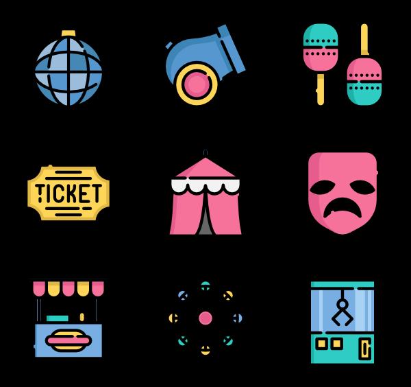 Podium clipart circus. Icons free vector