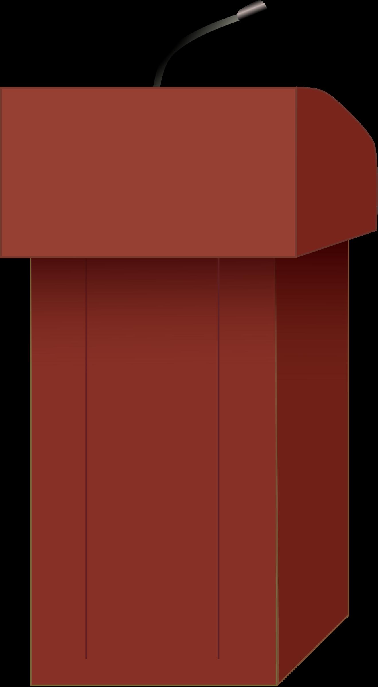 podium clipart lectern