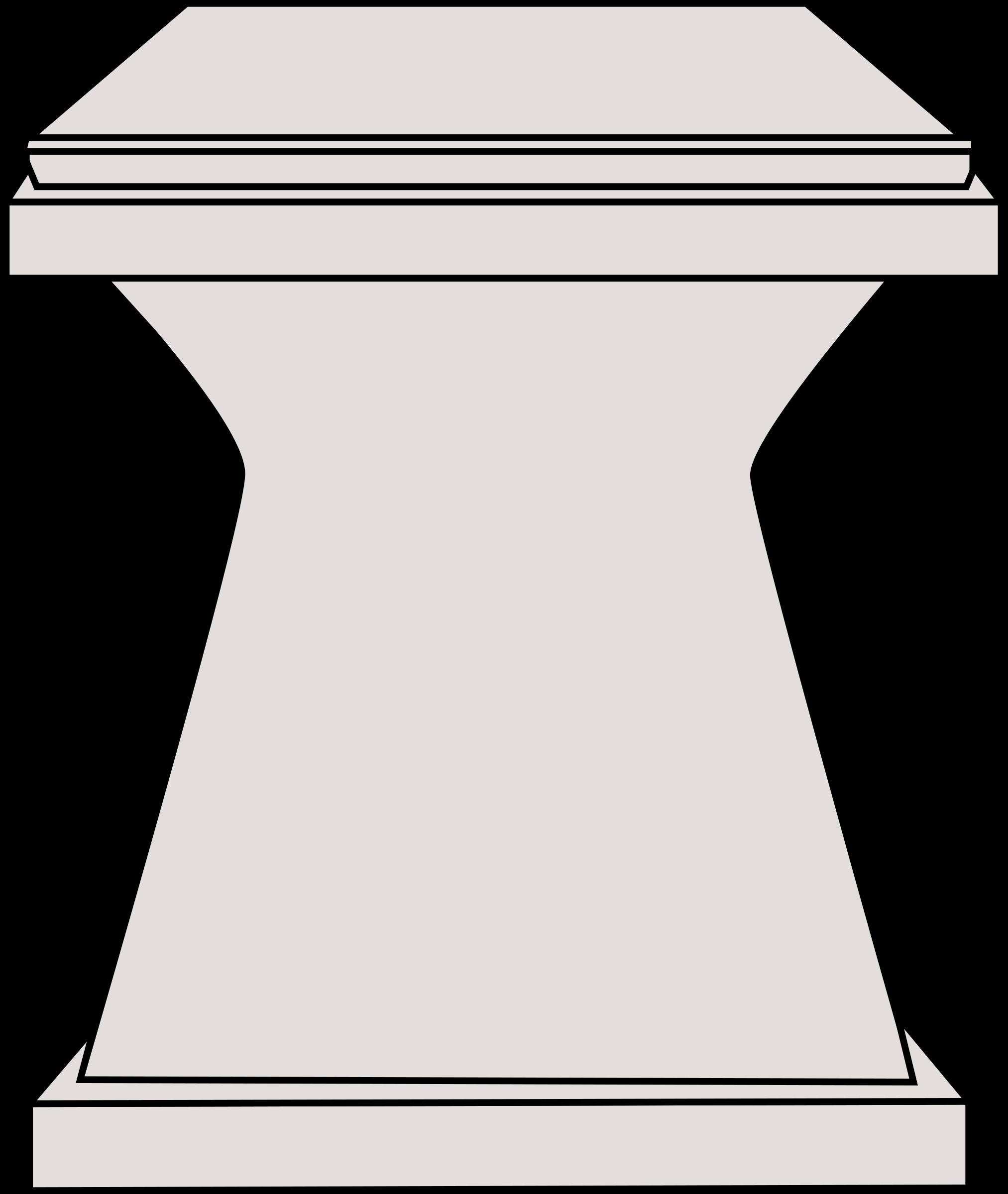 Big image png. Podium clipart pedestal