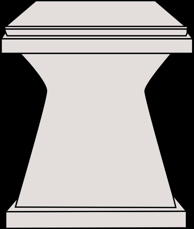 Medium image png . Podium clipart pedestal