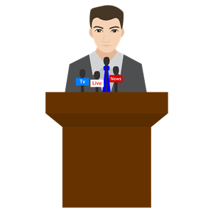 Man cliparts of free. Podium clipart person