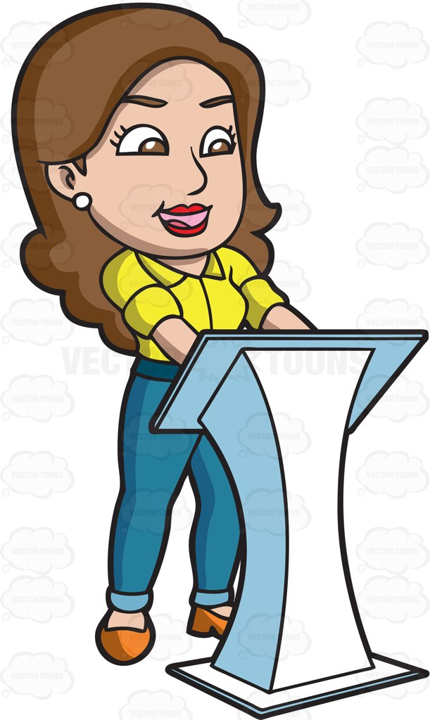 Speakers clipart lady. Speaker person cliparts free