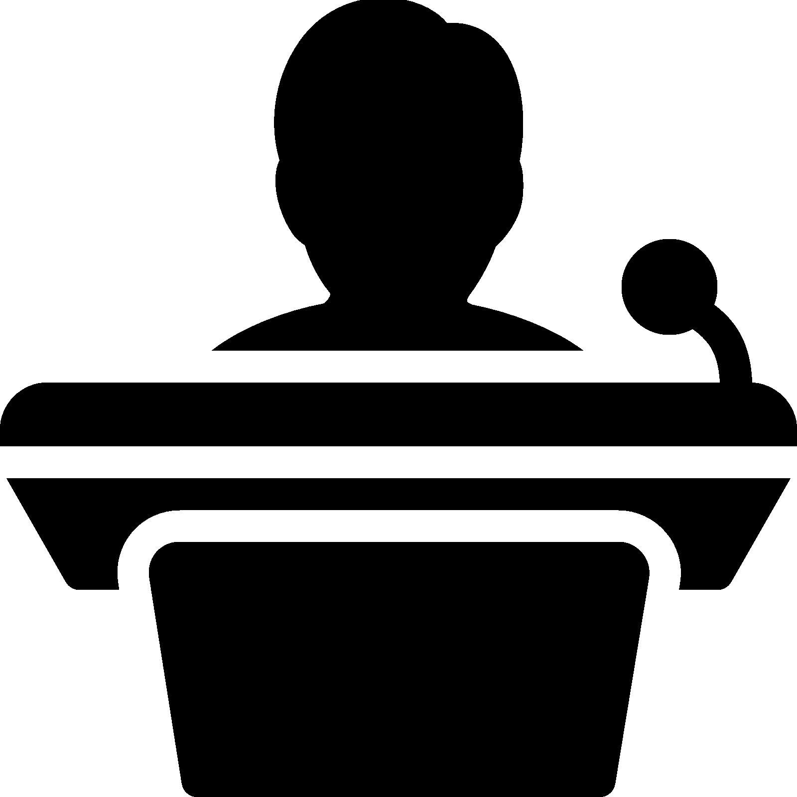 Minnesota silhouette at getdrawings. Podium clipart speaker podium