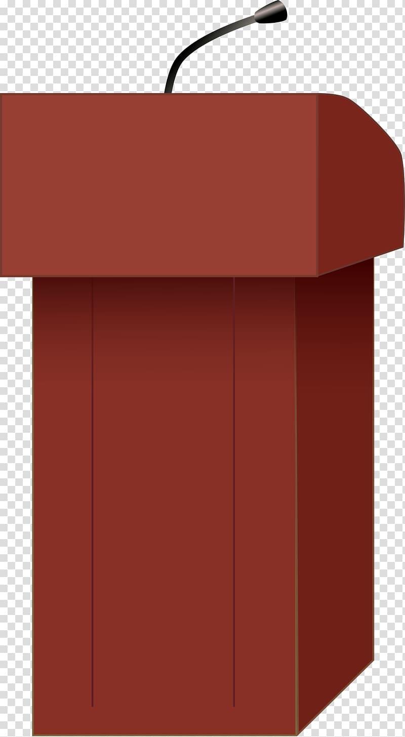 Public speaking transparent background. Podium clipart speech podium
