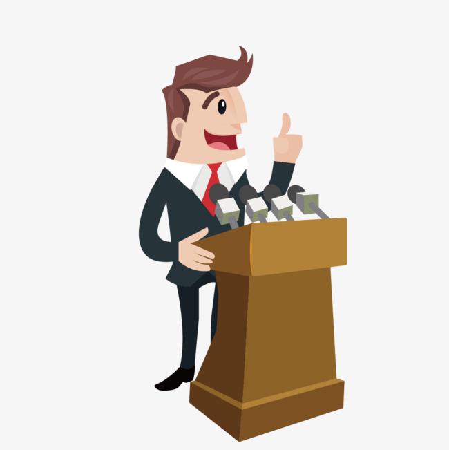 Download free png business. Podium clipart speech podium