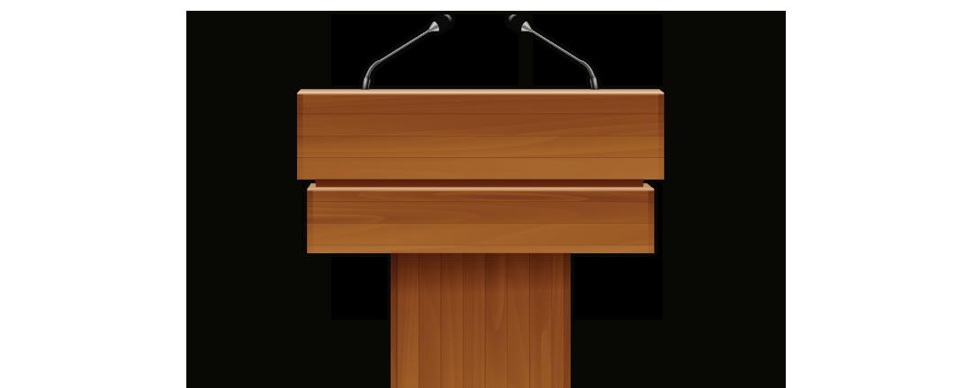 Podium clipart speech podium. Png speaker at transparent