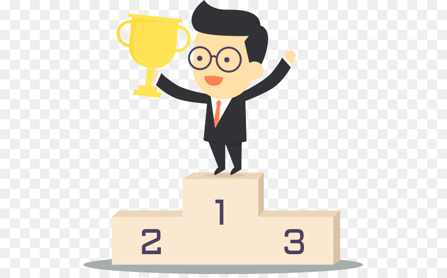 Download free png trophy. Podium clipart winner