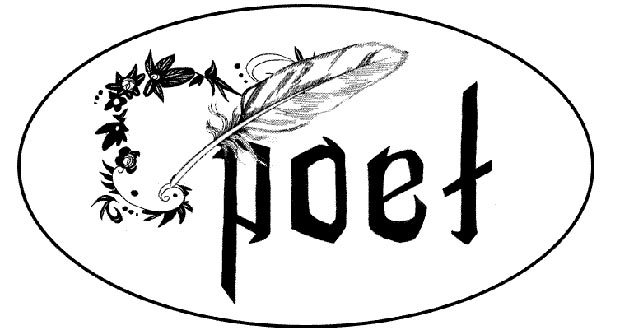 Poem clipart. A love of poetry