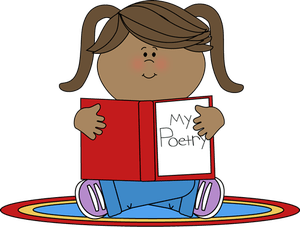 Poetry clipart. For children