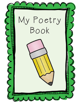 For fountas and pinnell. Poetry clipart poetry book