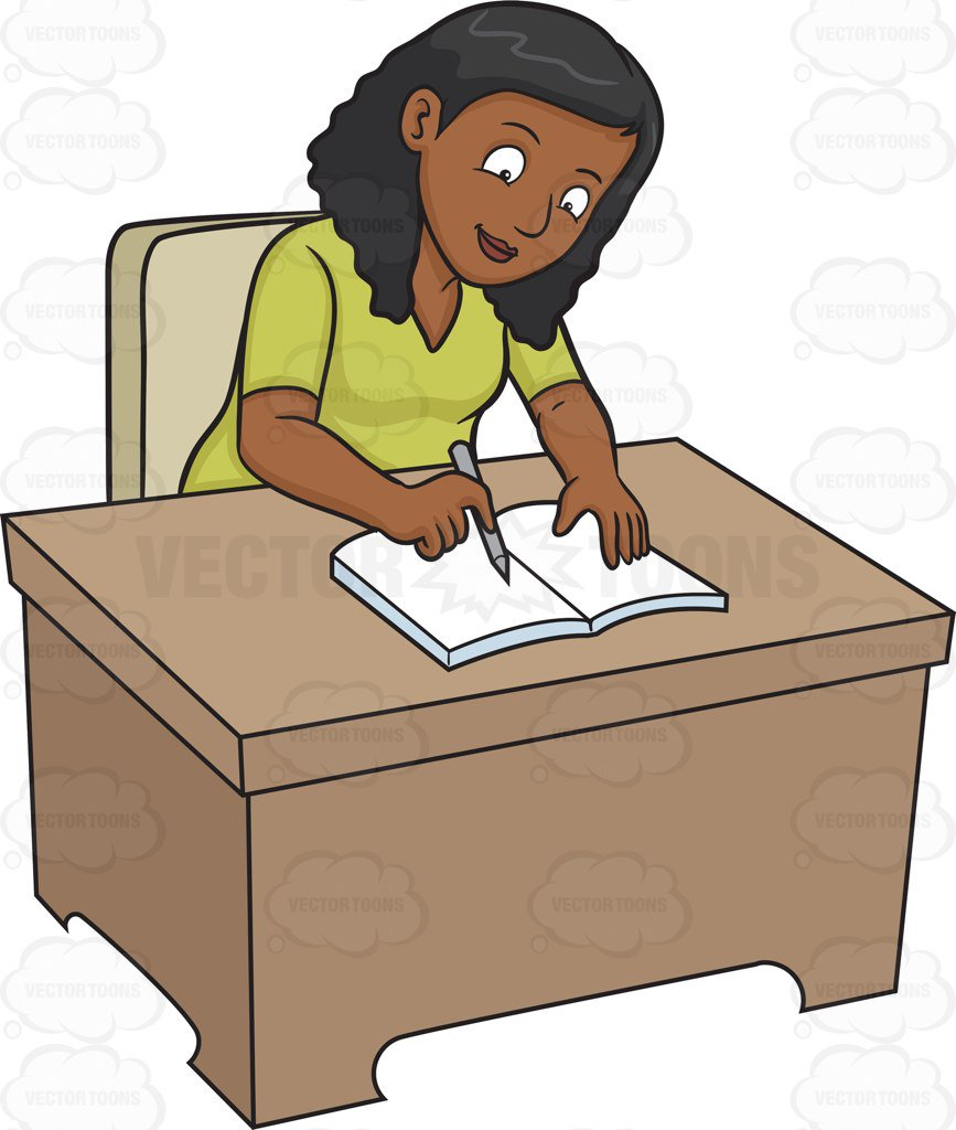 Journal writing cliparts free. Writer clipart man