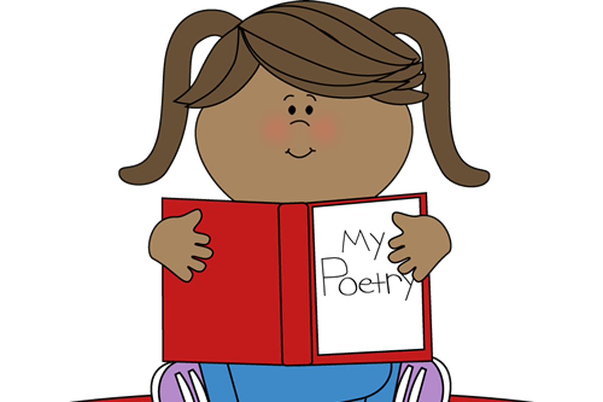 The twitter of college. Poetry clipart verse