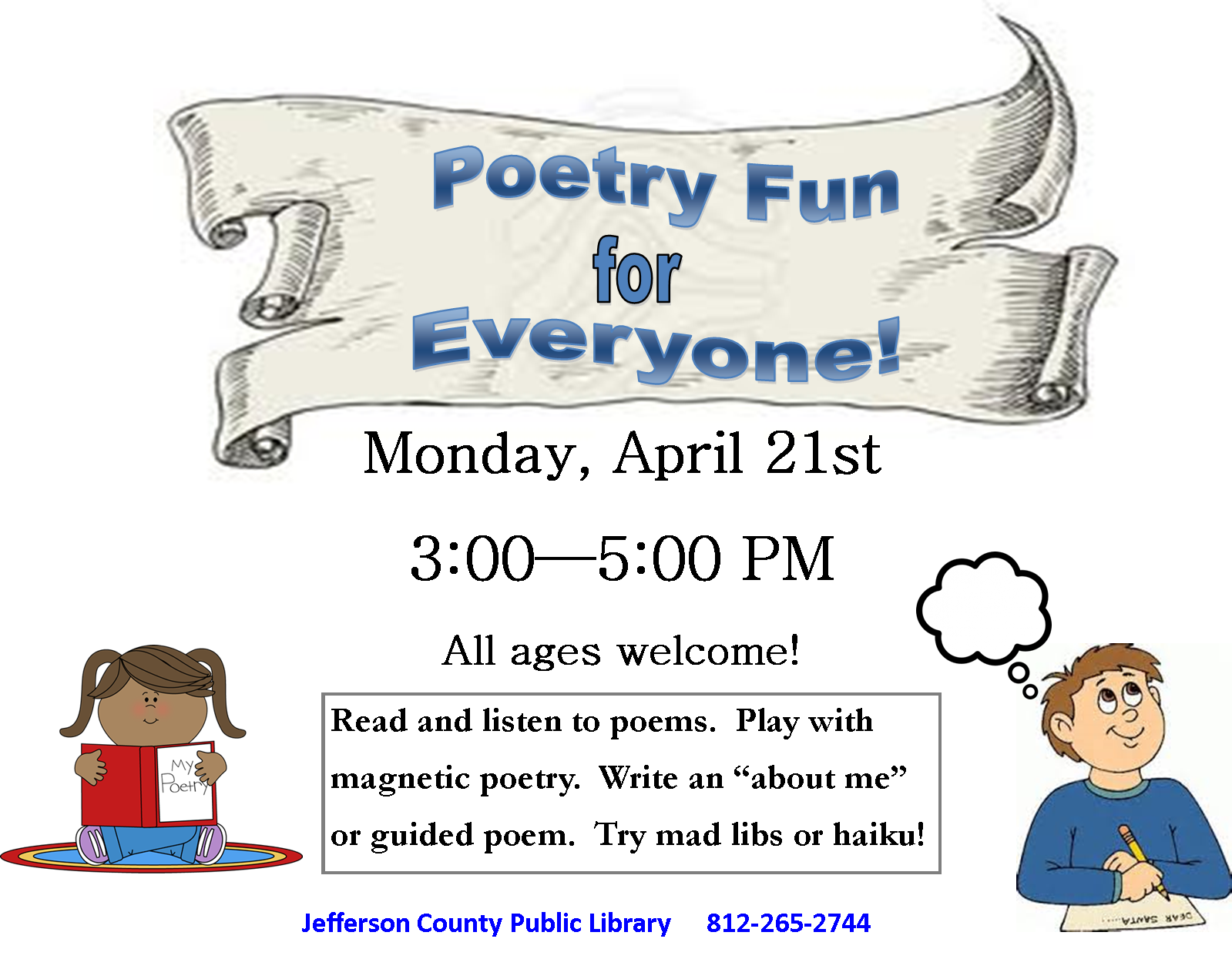 Poetry clipart haiku. Fun for everyone on