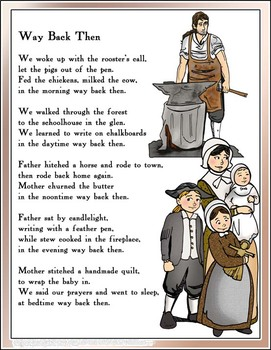 way back then. Poetry clipart historical document