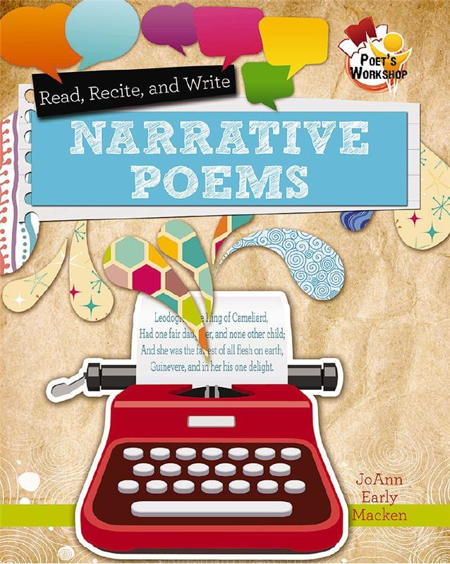 Poetry clipart narrative poetry. Read recite and write