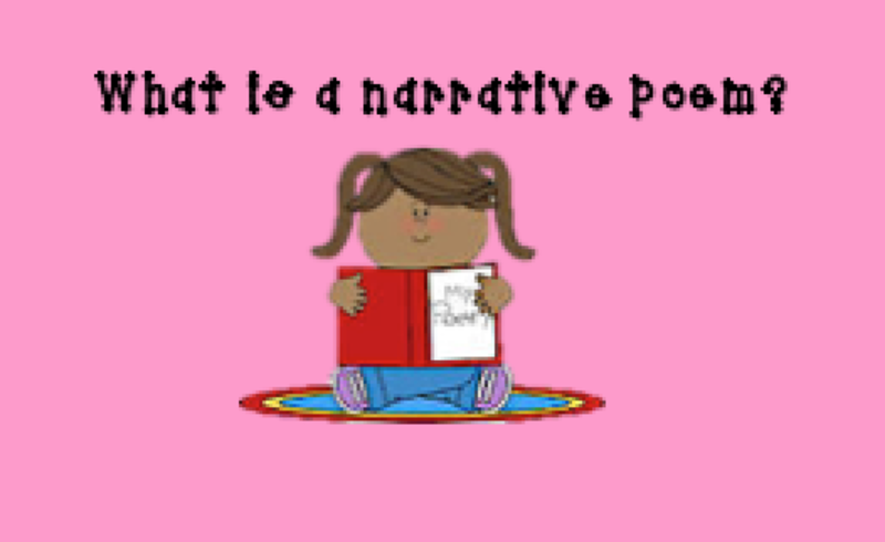 Third grade lesson day. Poetry clipart narrative poetry