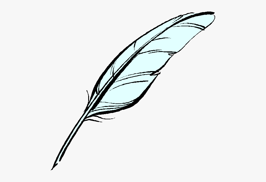Poem clipart plume pen. Feather free