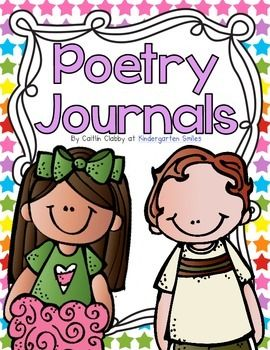 Poem clipart poetry journal. Notebooks journals for the