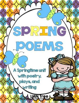 Poetry plays and writing. Poem clipart spring