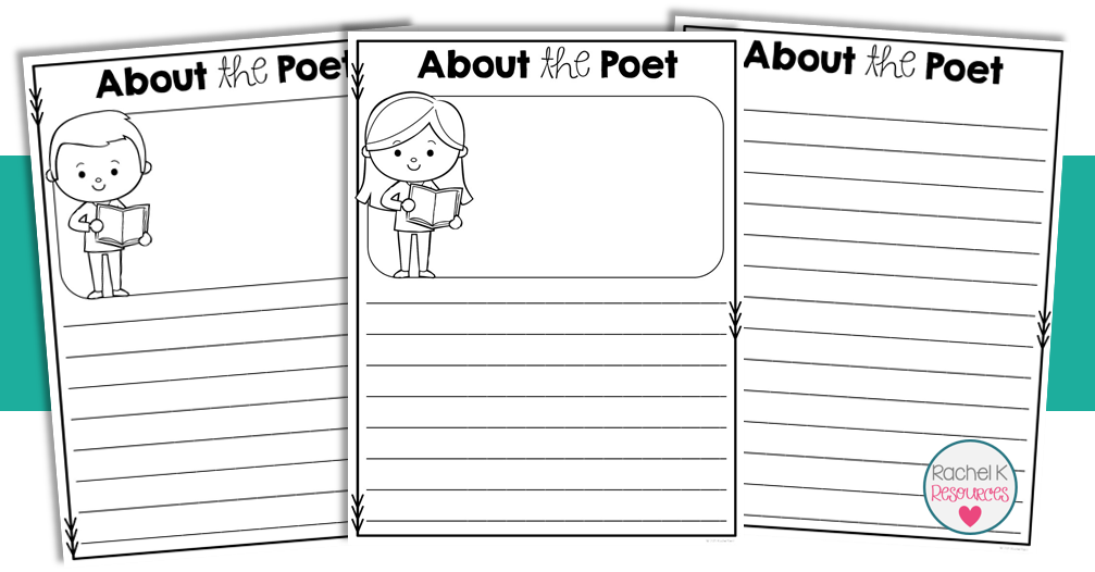 Book template rachel k. Poetry clipart table contents