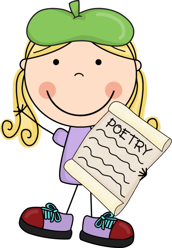 Poetry clipart description. Poem ourclipart pin