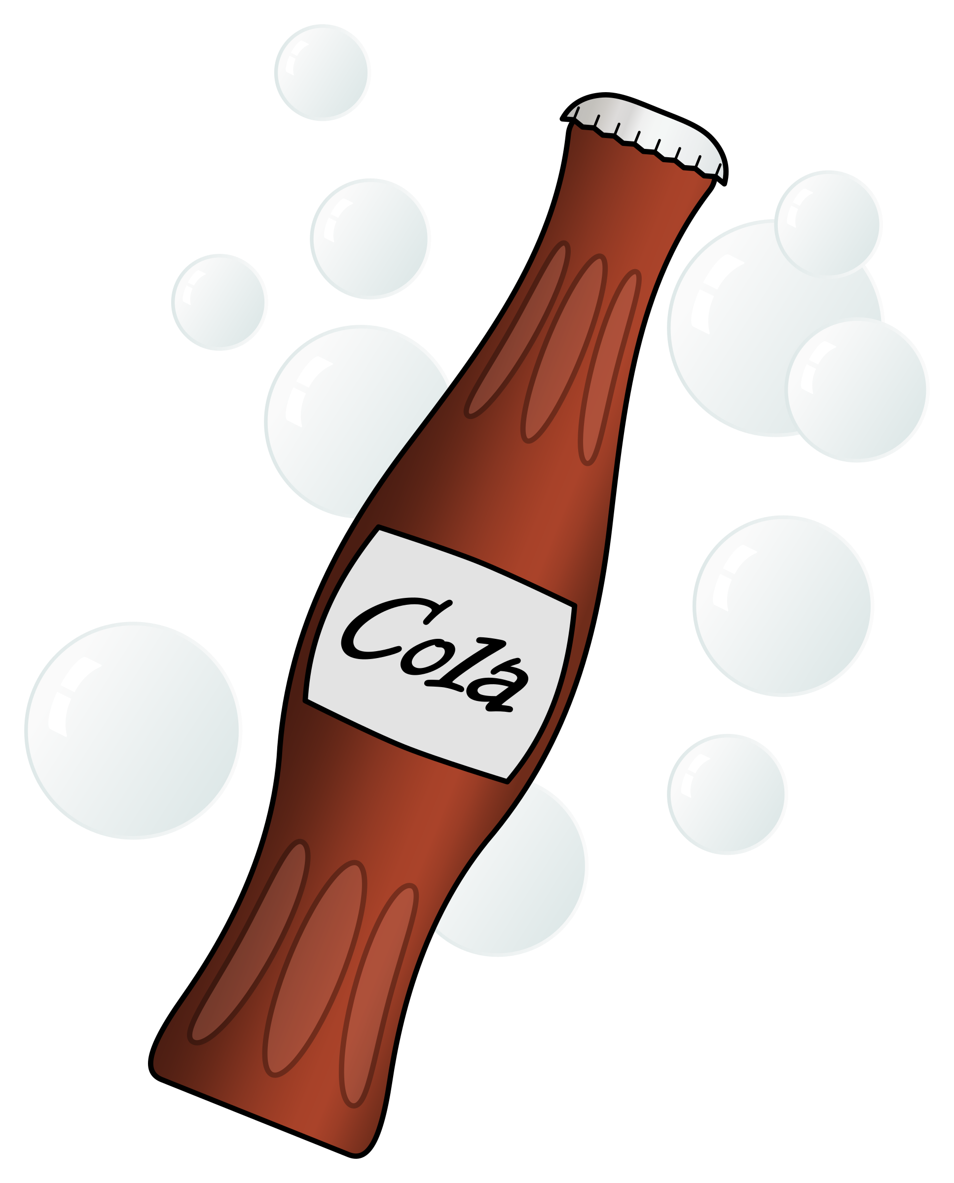 Poetry clipart bottle. Soda by arvin r