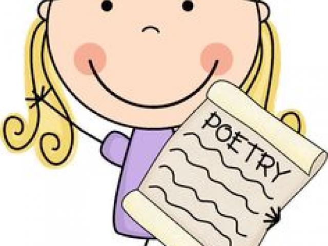 Free poem download clip. Poetry clipart description