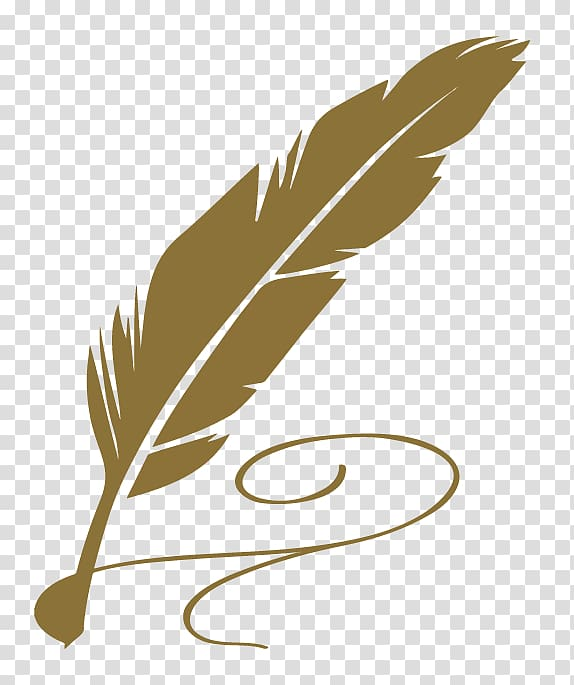 Verse writing others transparent. Poetry clipart feather