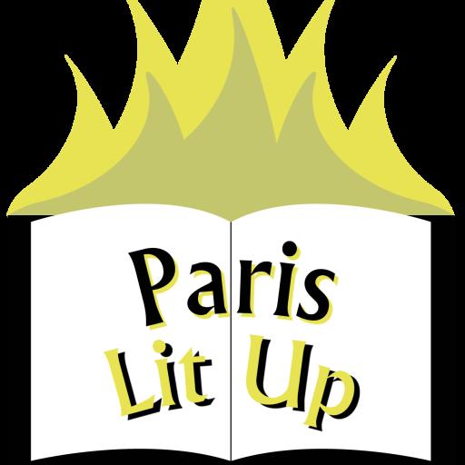 Paris lit up on. Poetry clipart literature american