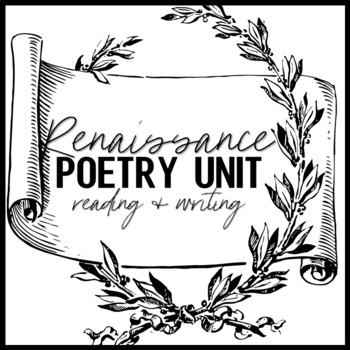 Poetry clipart literature british. Renaissance unit reading and