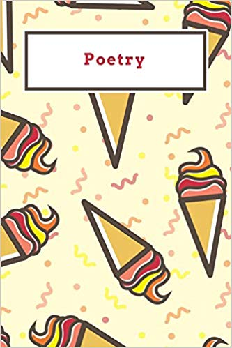 Funny red and yellow. Poetry clipart log book