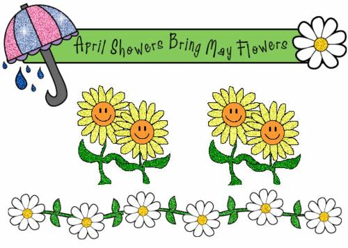 Poem contest april showers. Poetry clipart may flower