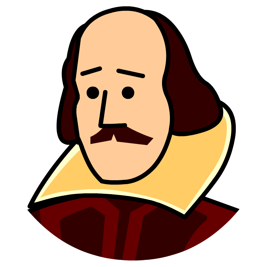 Poetry clipart plays shakespeare. Time zone x william