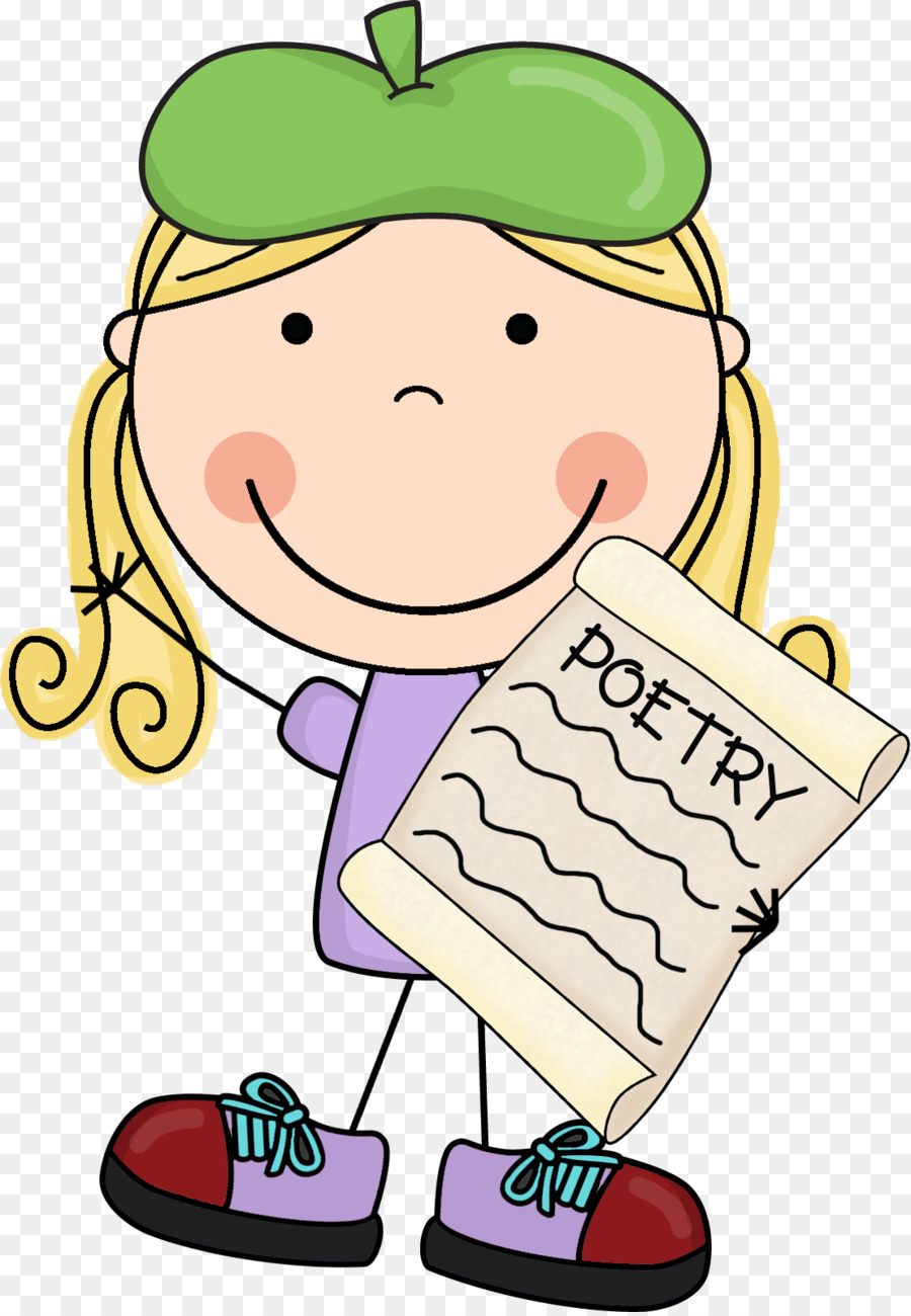 Poetry clipart poetry journal. Food cartoon hand transparent