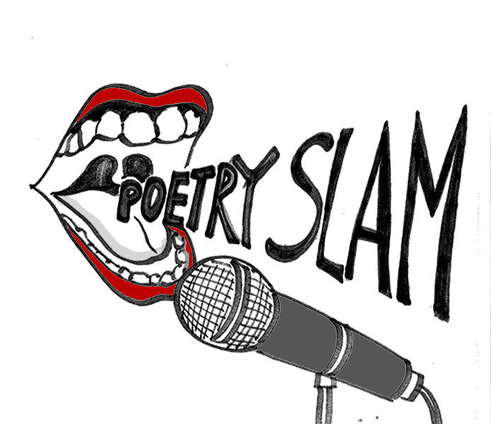 Poetry clipart spoken word poetry.  queer poems the