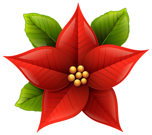 clipart christmas plant