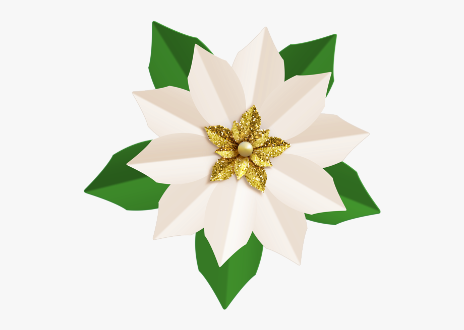 Poinsettia clipart banner. Free library christmas png