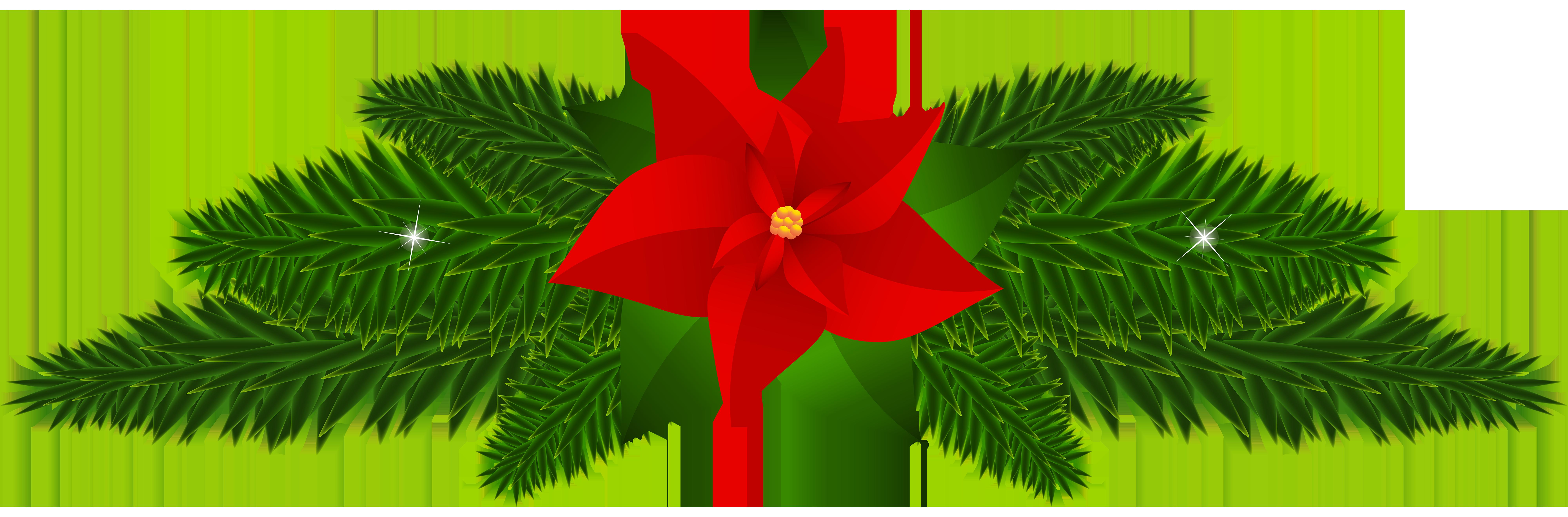 Christmas poinsettia decoration png. Poinsettias clipart ornament