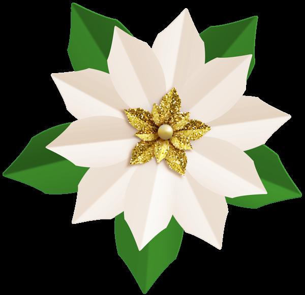 Poinsettias clipart candel. Christmas white poinsettia png