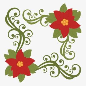 Poinsettia clipart poinsettia corner. Png transparent image free