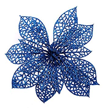 Poinsettias clipart blue. Crazy night pack of
